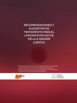 Guía GELTAMO Tratamiento LBDCG poster