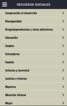 Guía Rioja. Recursos Sociales poster