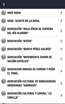 Guía Rioja. Recursos Sociales screenshot 2