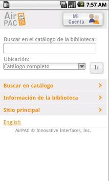 Biblioteca Móvil de la UCA screenshot 1