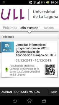 Eventos screenshot 4