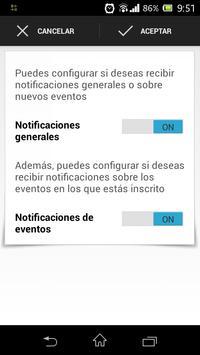 Eventos screenshot 5