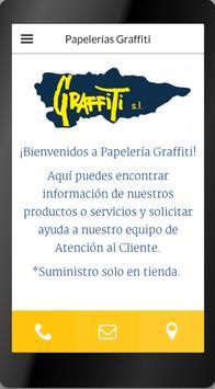 Papelerías Graffiti poster