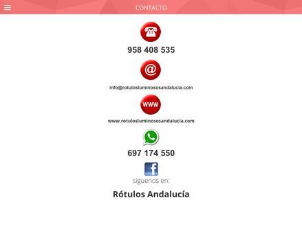 RÓTULOS ANDALUCÍA apk screenshot