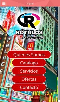 RÓTULOS ANDALUCÍA poster
