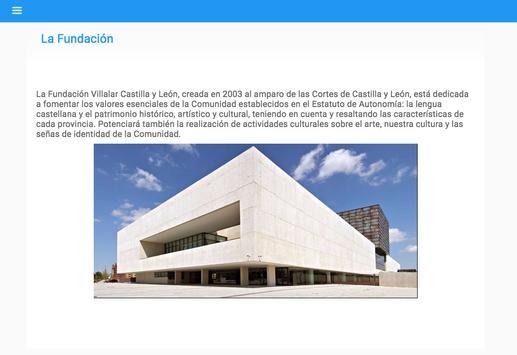FUNDACIÓN VILLALAR screenshot 4