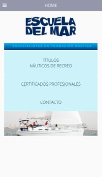 Escuela del Mar Palma poster