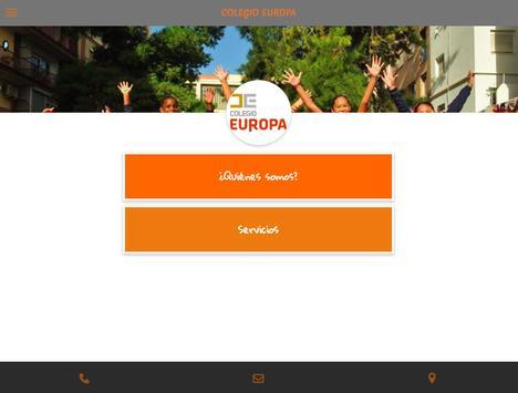 Colegio Europa apk screenshot