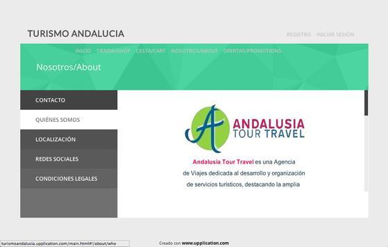 Turismo Andalucía apk screenshot