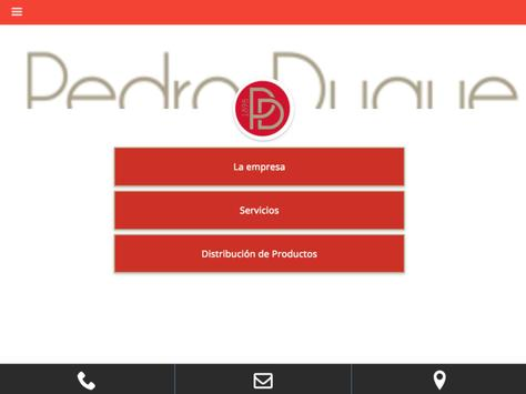 Pedro Duque Canarias apk screenshot
