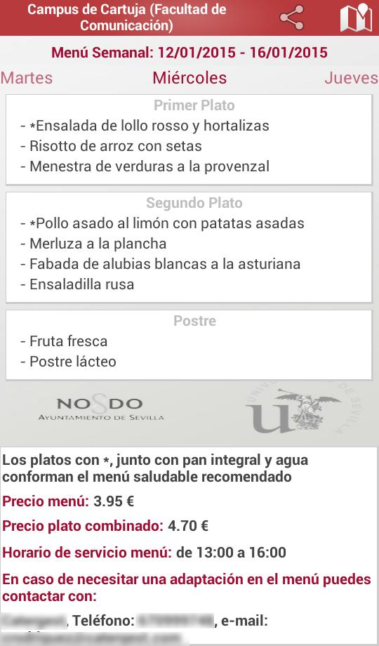 Comedores Universitarios US for Android - APK Download