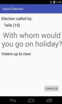Quick Election screenshot 2