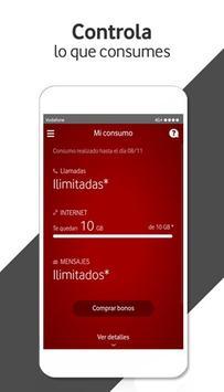 Mi Vodafone captura de pantalla de la apk