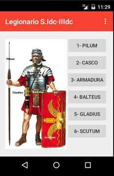 Legionario romano alto-imperio poster