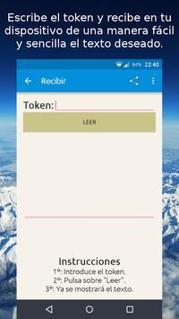Viset - Enviar texto fácil screenshot 1