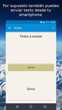 Viset - Enviar texto fácil screenshot 2