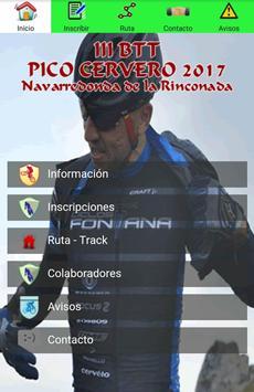 Bici BTT Pico Cervero -2018- poster