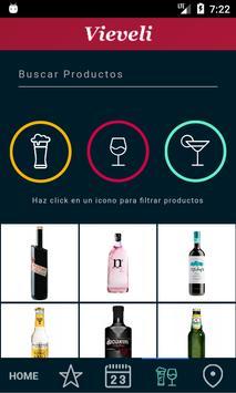 Vieveli - bebidas y licores apk screenshot