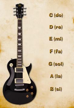 Guitar Chord Basic poster