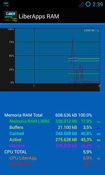 LiberApps RAM Booster screenshot 3