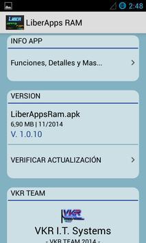 LiberApps RAM Booster screenshot 7