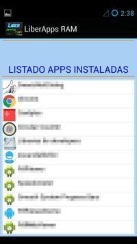 LiberApps RAM Booster screenshot 4