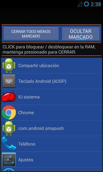 LiberApps RAM Booster screenshot 5
