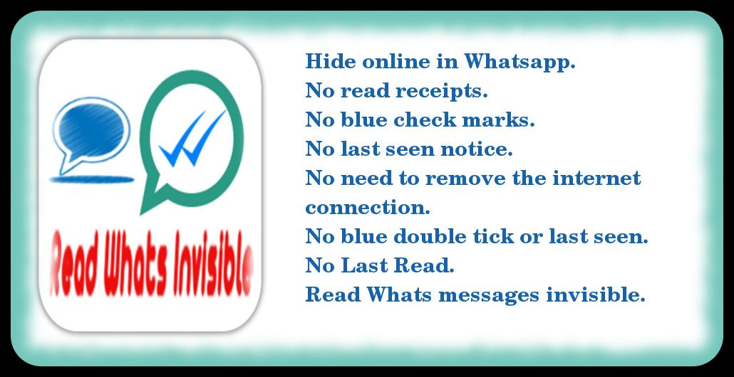 Hide Whatsapp last seen 2016 for Android - APK Download