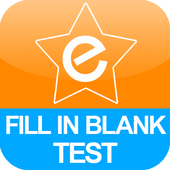 Fill In Blank Test icon