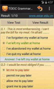 Fill In Blank Test screenshot 2