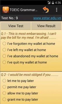 Fill In Blank Test screenshot 8