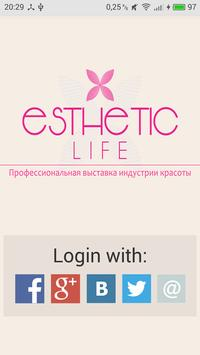 Esthetic Life - expo poster
