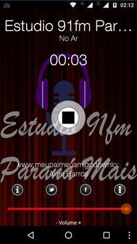 Estudio 91FM Parana Mais poster