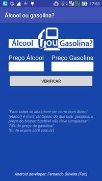 Álcool ou Gasolina? screenshot 1