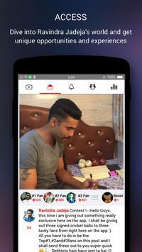 Ravindra Jadeja Official App apk screenshot