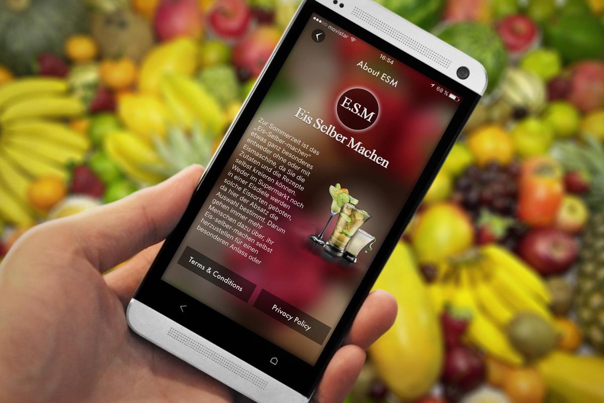 eis-rezepte zum selbermachen apk download - free food & drink app