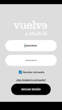 Vuelve a Madrid screenshot 1