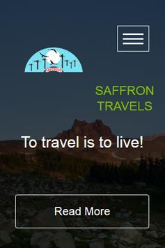 Saffron Travels poster