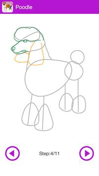 Learn To Draw Dogs screenshot 2