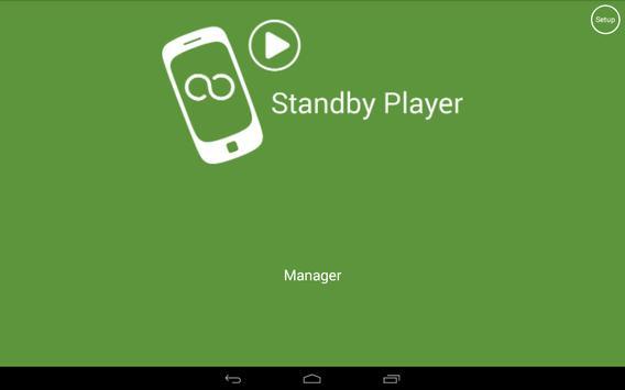 Standby Player Manager apk screenshot