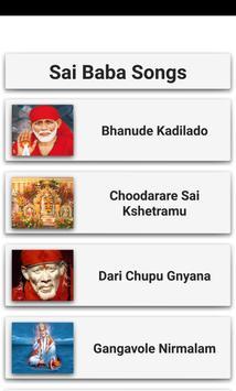 Sai Baba Songs poster