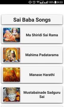 Sai Baba Songs screenshot 2