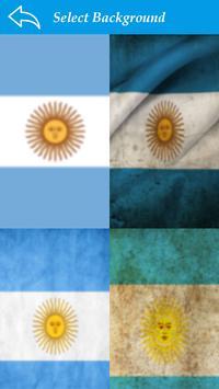 Argentina Flag Letter Alphabet & Name screenshot 3