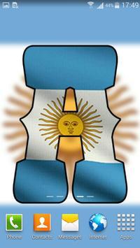 Argentina Flag Letter Alphabet & Name screenshot 2