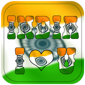 Indian Flag Alphabet Letter/Name Live Wallpaper/DP icon