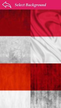 Indonasia Flag Letter Alphabet & Name screenshot 3