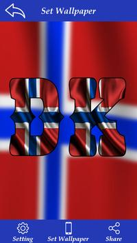 Norway Flag Letter Alphabet & Name poster