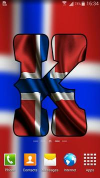 Norway Flag Letter Alphabet & Name screenshot 2