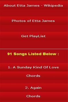 All Songs of Etta James screenshot 2