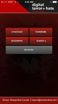 Digital Terrorism & Hate poster